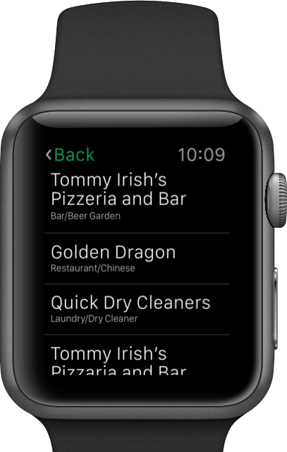 PaidEasy Watch App Screenshot